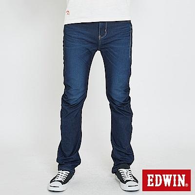 EDWIN JERSEYS 迦績EF直筒牛仔褲-男-原藍磨