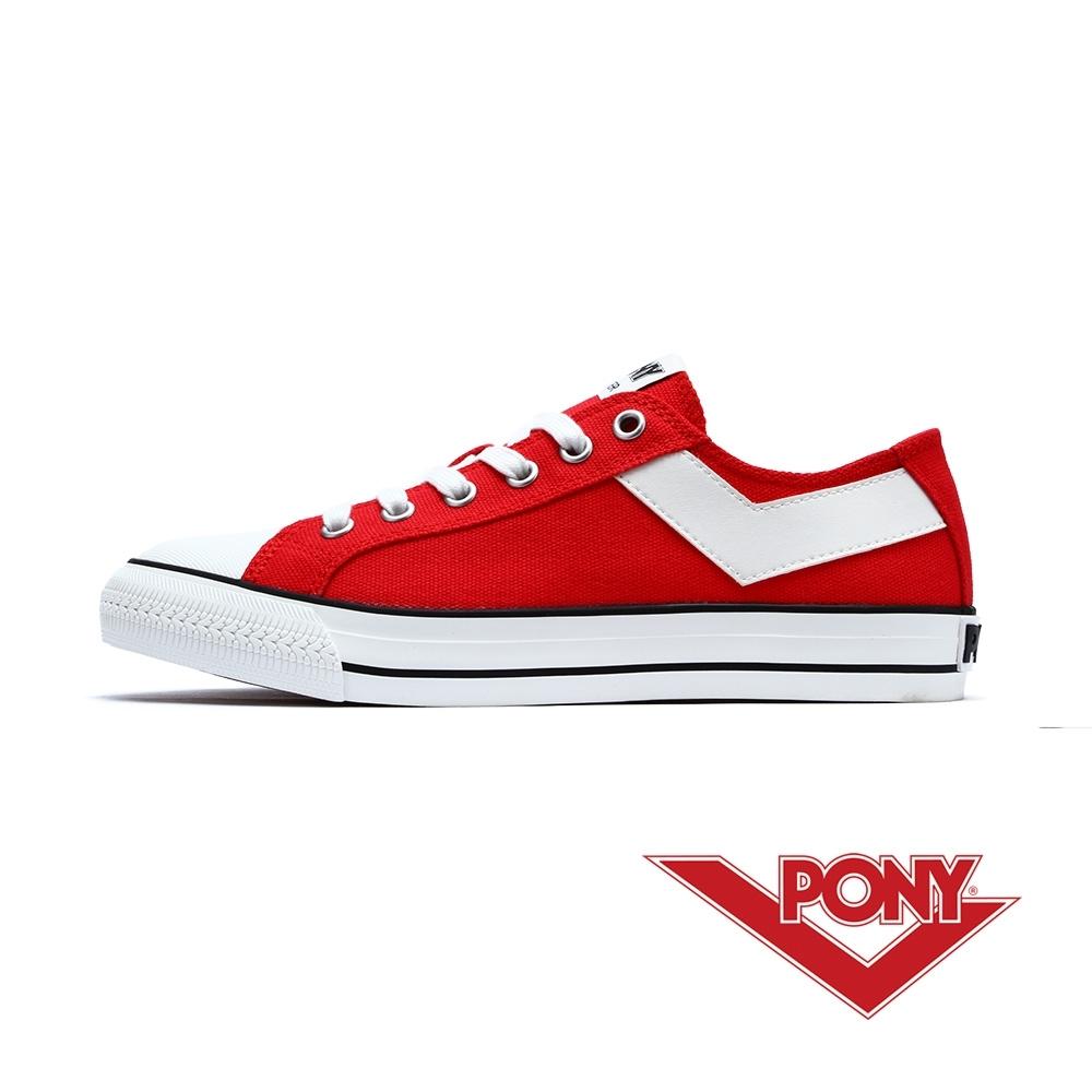【PONY】Shooter系列百搭復古經典帆布鞋 男女 9色