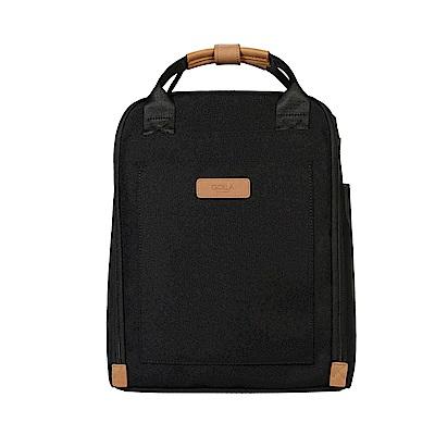 GOLLA 北歐芬蘭時尚極簡後背包- G2155 煤礦黑 13吋