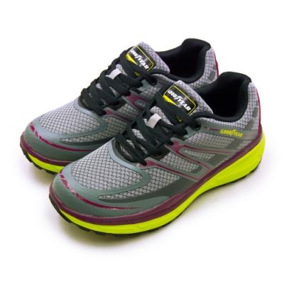 GOODYEAR 專業動能緩震慢跑鞋 灰紫綠 82798