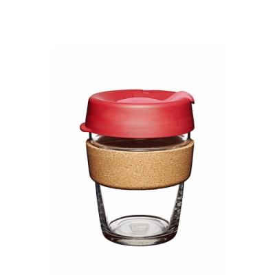 澳洲KeepCup隨身杯 軟木玻璃系列340ml/M-熱情(快)