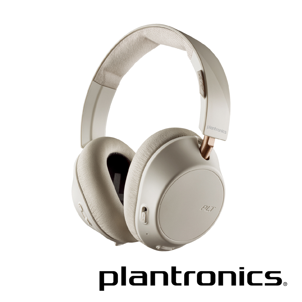 繽特力 Plantronics BackBeat GO 810主動降噪藍牙音樂耳機 象牙白