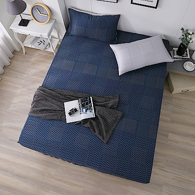 岱思夢 雙人100%天絲床包枕套三件組 一彎心跡