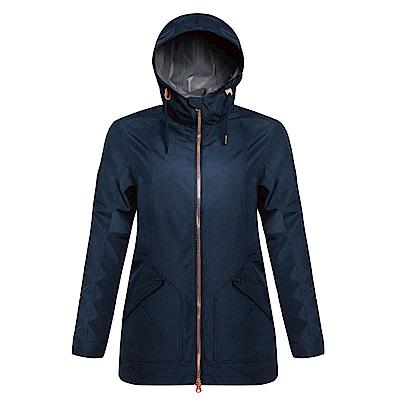 【GOHIKING】女素色超潑水防風外套
