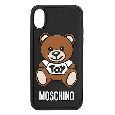 MOSCHINO 經典Toy熊熊 I Phone X 軟膠手機殼