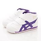 亞瑟士SUKU2機能鞋 護踝穩定童鞋 ZE01-102白紫(寶寶段)