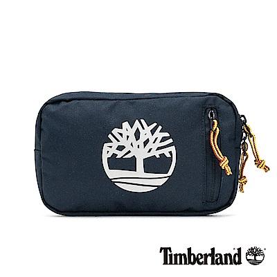 Timberland 中性深寶石藍大樹標誌印花插扣腰包|A1CV9
