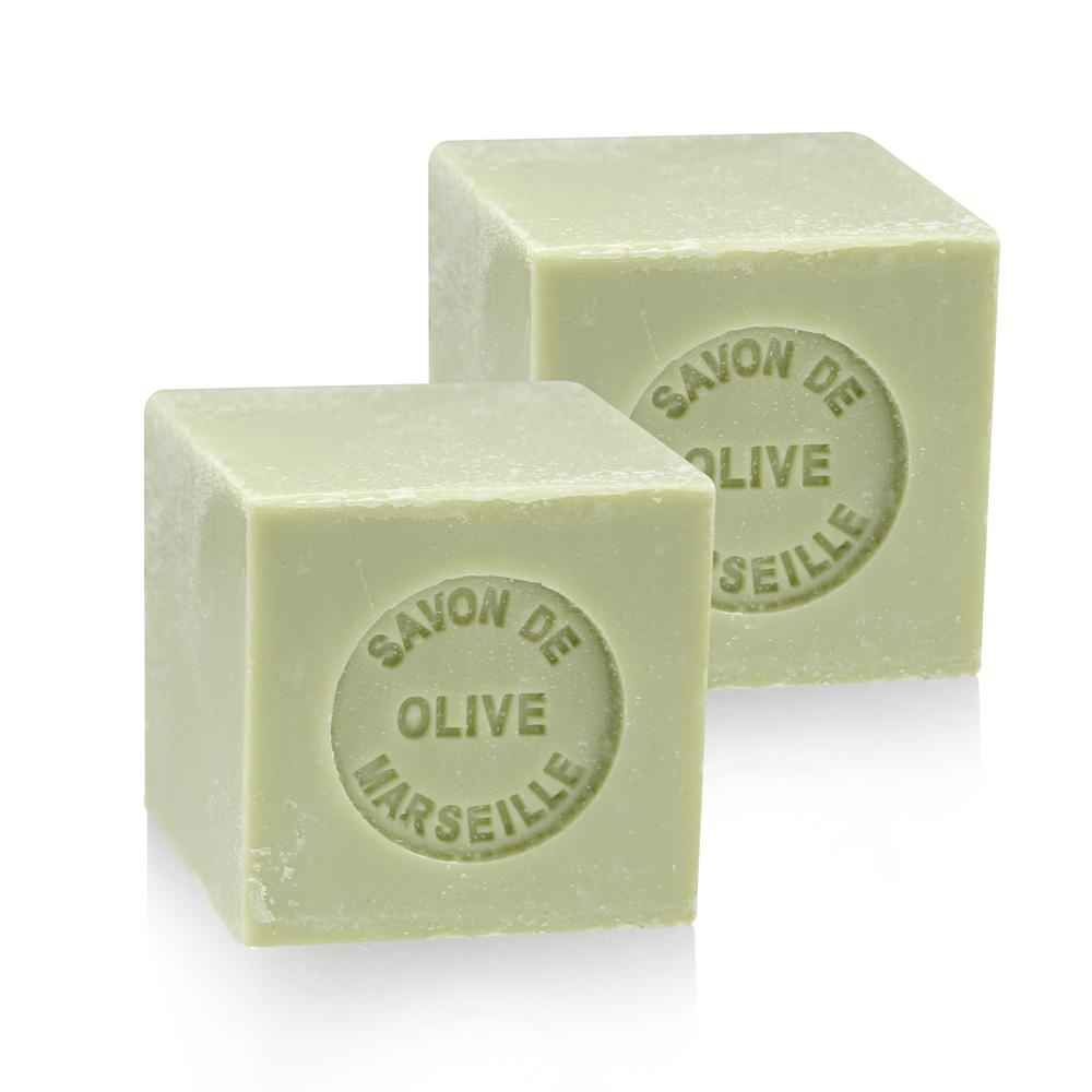 法國 戴奧飛波登 方塊馬賽皂-橄欖油(100g-2入組)