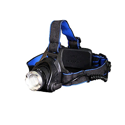 【Incare】超強光通量-U3奈米強登變焦頭燈套(贈18650電池/充電線)
