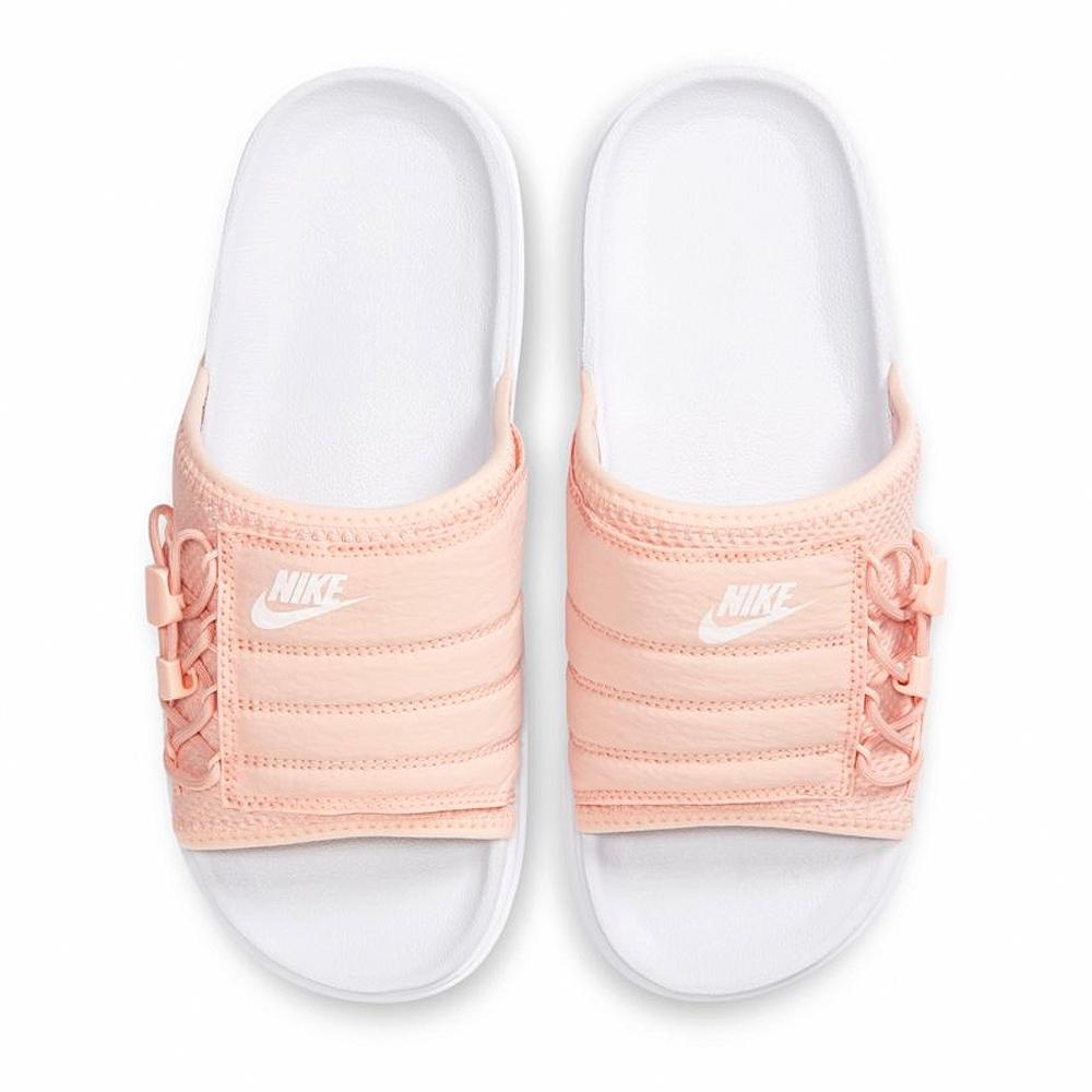 NIKE 休閒 運動 涼拖鞋 女鞋 白粉 CI8799100 ASUNA SLIDE