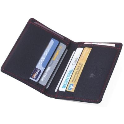 德國TROIKA防感應防RFID信用卡防盗刷屏障皮夾錢包CAS08/BK防資料竊取防駭客旅行皮夾