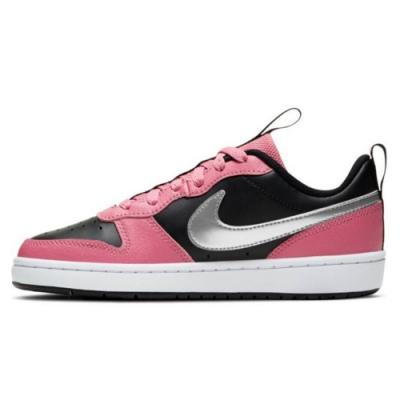 NIKE 休閒鞋 運動鞋 復古 皮革 大童 女鞋 粉黑灰 CT3964600 Court Borough Low 2 GS