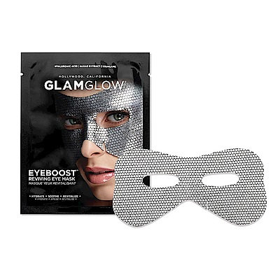 (買一送一)GLAMGLOW 超效保濕亮眼膜 一片裝
