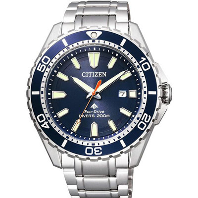 CITIZEN Eco-Drive 宇宙飛行站光動能時尚腕錶(BN0191-80L)