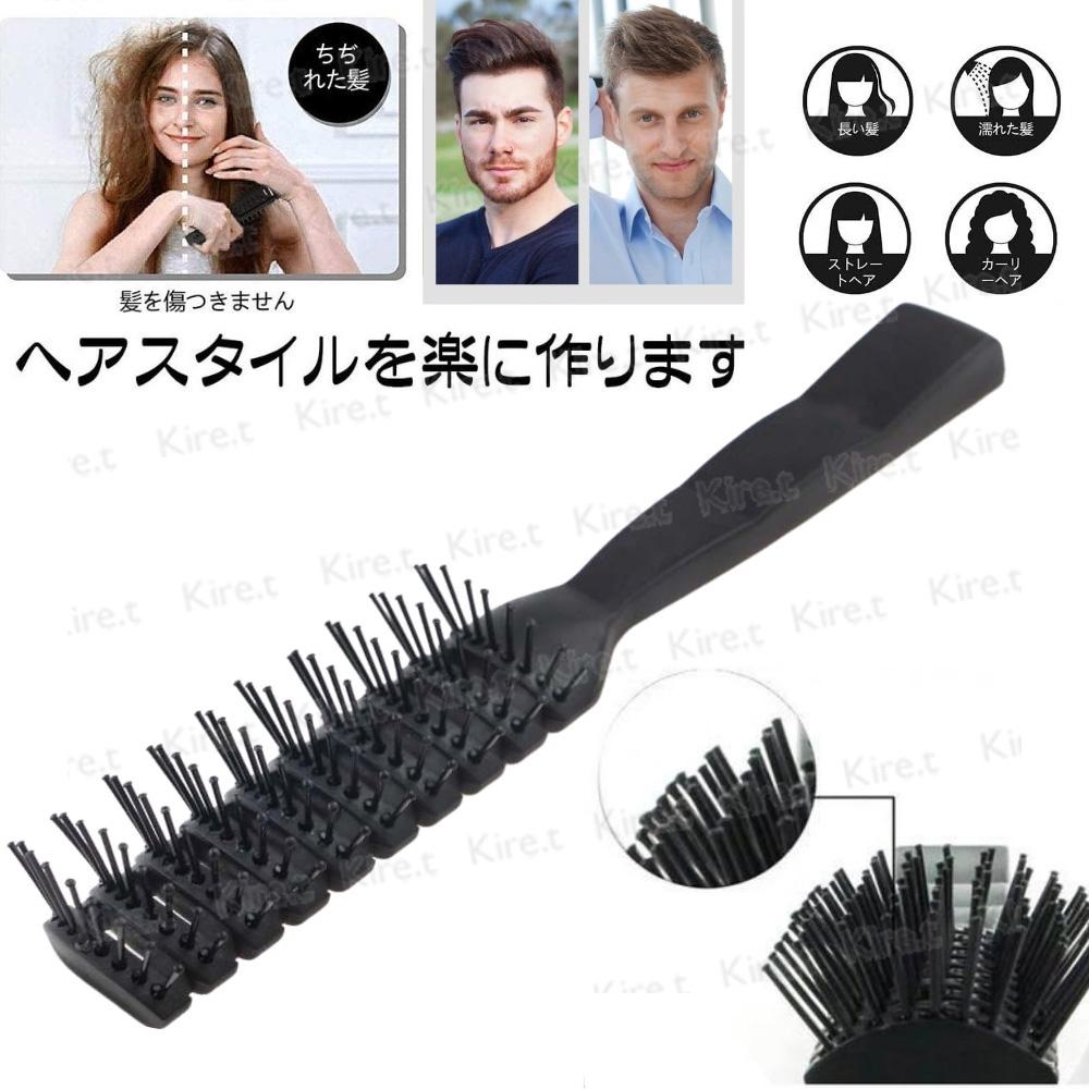 Kiret 美髮專業排骨梳/吹髮梳 (透氣通風速乾 防靜電)