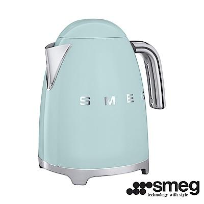 義大利SMEG  電熱水壺 -粉綠色 KLF01PGTW