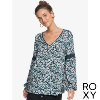 【ROXY】SALTWATER SOUND DOBBY 時尚上衣 海軍藍