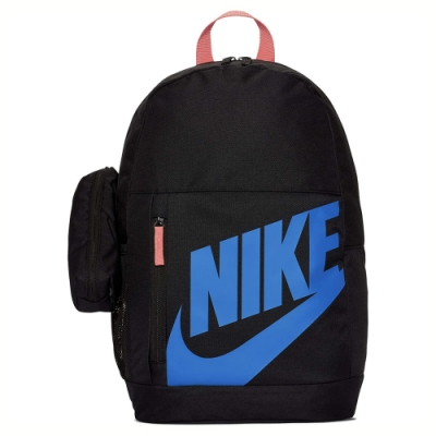 NIKE 後背包 童包 運動 休閒 黑藍 BA6030015 Y NK ELMNTL BKPK - FA19