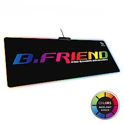 B.Friend MP07 RGB發光大型滑鼠墊