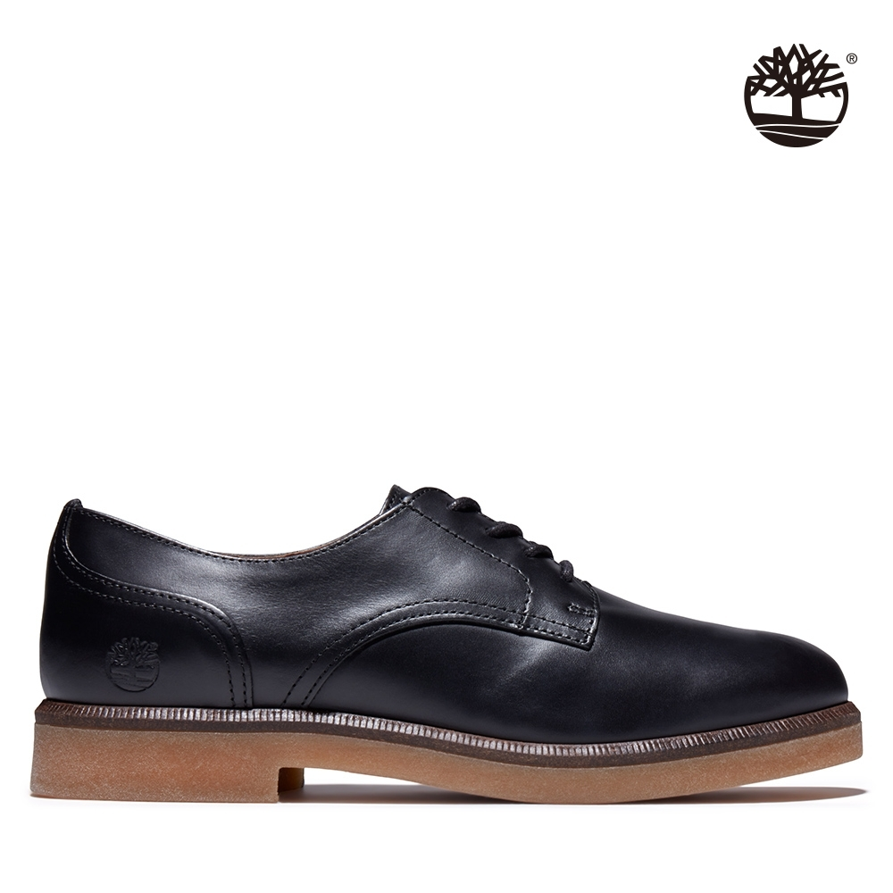 Timberland 女款黑色Cambridge Square全粒面皮革牛津鞋|A2G1D
