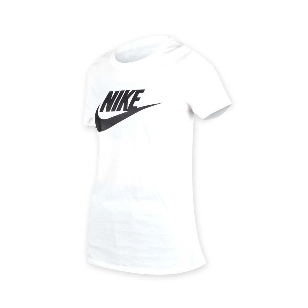NIKE 女短袖T恤-短T 路跑 慢跑 白黑