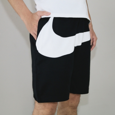 NIKE AS M NSW HBR SHORT FT STMT 男短褲 黑色