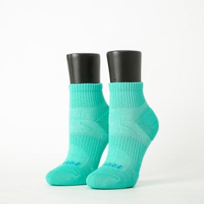 Footer除臭襪-輕壓力單色足弓襪-六雙入(黑*2+綠*2+粉紅*2)