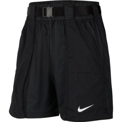 NIKE 籃球褲 運動 健身 路跑 短褲 黑 女款 CJ3808010 AS W NSW SWSH SHORT WVN
