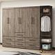 直人木業-OLIVER古橡木265公分系統衣櫃組合 product thumbnail 1