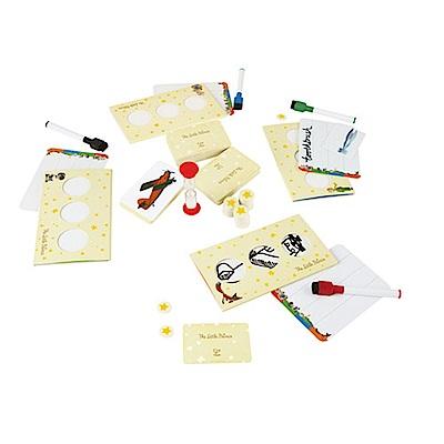德國Hape愛傑卡-小王子創意手繪羊遊戲