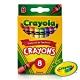 【美國crayola 繪兒樂】彩色蠟筆8色 product thumbnail 1