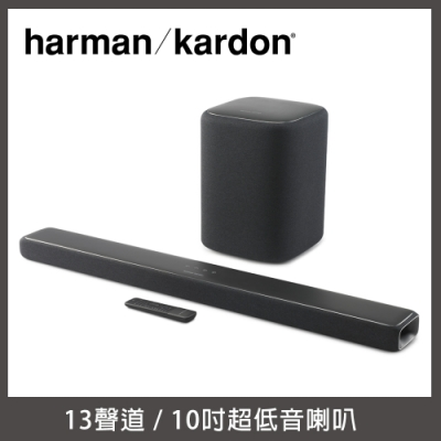 【Harman Kardon】ENCHANT 1300 soundbar 家庭劇院組 + Enchant Subwoofer 無線重低音喇叭