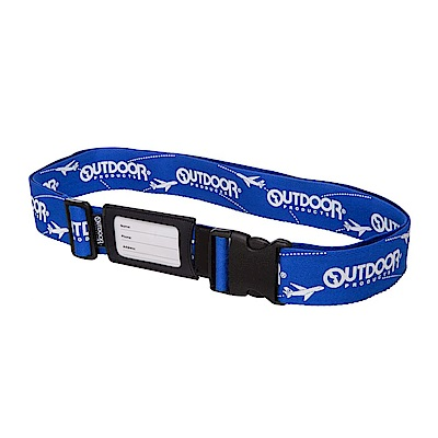 行李箱綁帶-藍 ODS15B01BL