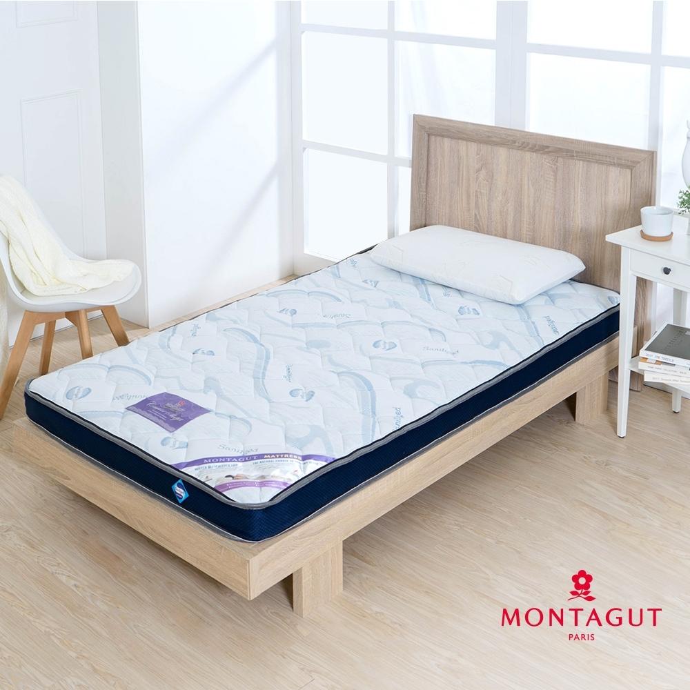 MONTAGUT-防蹣抗菌-10CM獨立筒床墊(雙人加大6尺-180x186cm)