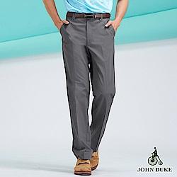 JOHN DUKE棉質休閒風長褲_咖(88-8A5002)