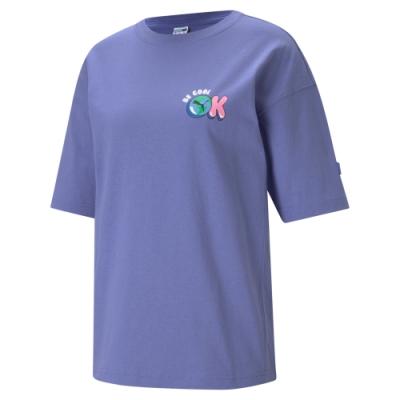 【PUMA官方旗艦】流行系列Downtown短袖T恤 女性 53143814