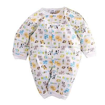 印花薄款長袖連身衣 k50629 魔法Baby