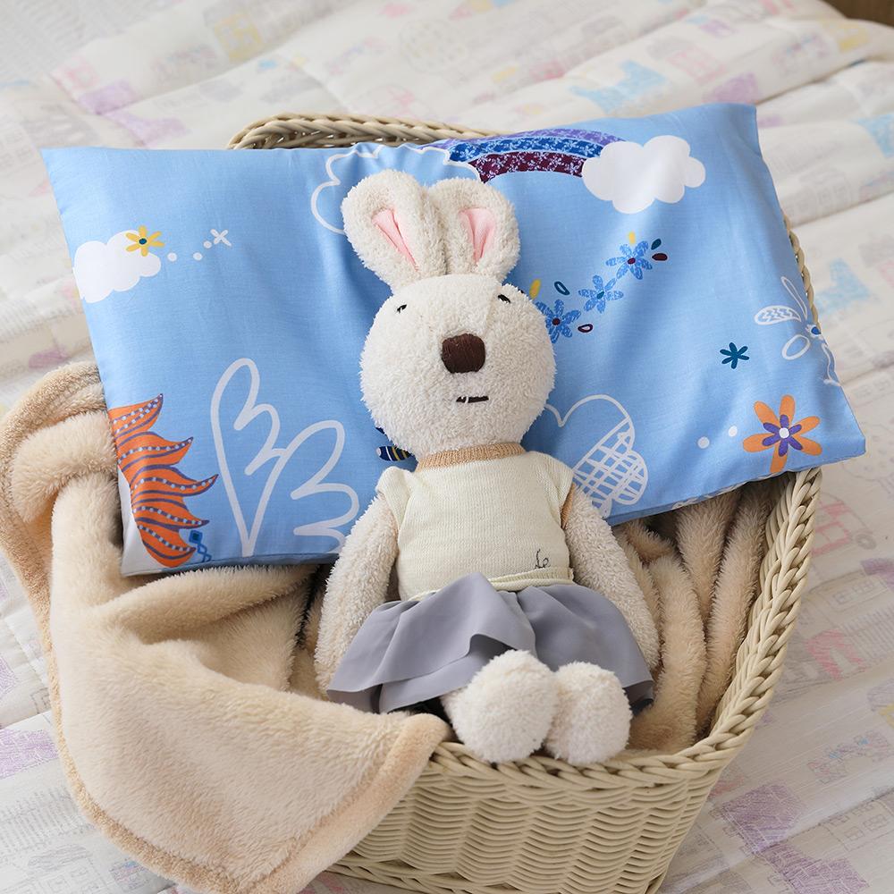 IN HOUSE-3D嬰兒水洗枕-快樂獨角獸(藍)