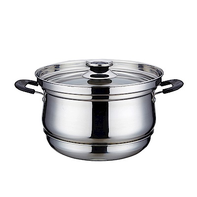 ENNE 超節能 食品級不鏽鋼免火再煮鍋 27cm