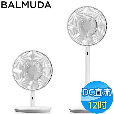 BALMUDA The GreenFan 12吋DC直流電風扇 EGF-1600 白灰色