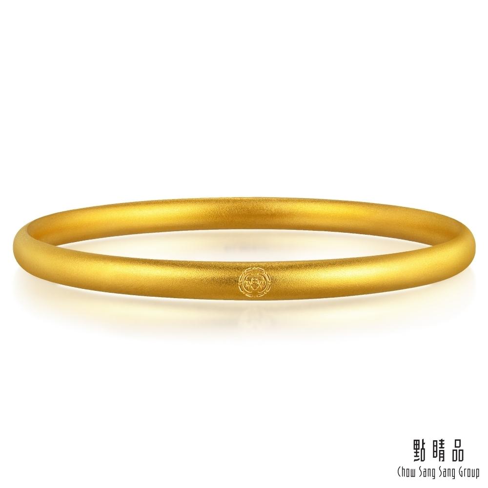 點睛品 東方古祖 祝福滿滿 黃金手環/手鐲_計價黃金