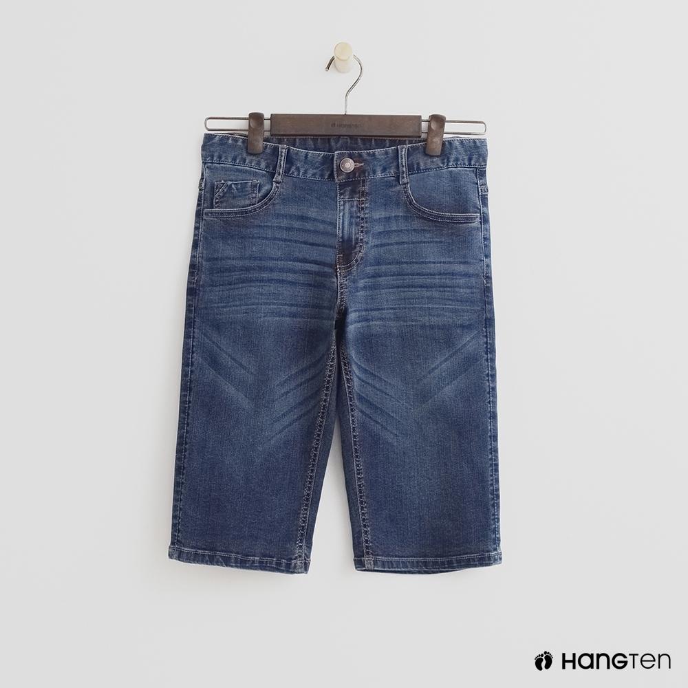 Hang Ten-青少童裝-直率牛仔短褲