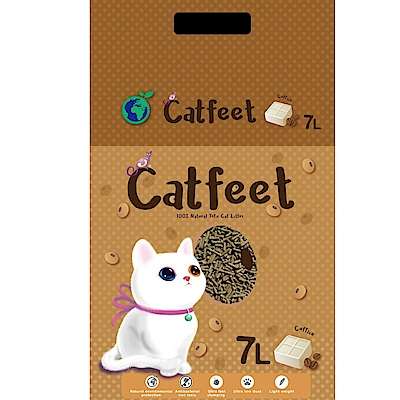 CatFeet 天然環保豆腐砂 7L 三包組