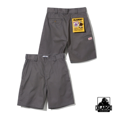 XLARGE SIDE PKT WORK SHORT工作短褲-灰
