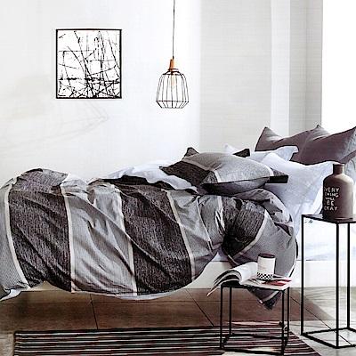 Grace Life 貝蒂 台灣精製 加大精梳純棉床包三件組~床圍高度35公分