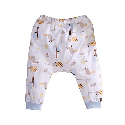 印花純棉薄款初生嬰兒褲 a70236 魔法Baby