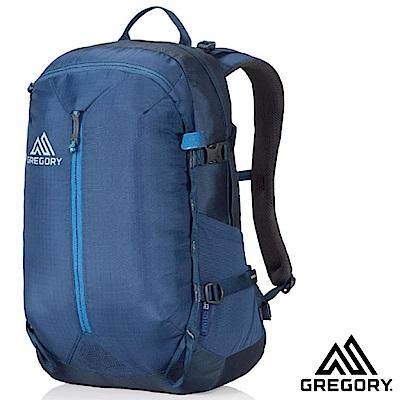 GREGORY 新款 Patos 28L 多功能減震型透氣登山後背包_港口藍