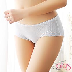 無痕內褲 透氣洞孔冰絲女性內褲 (白色) alas