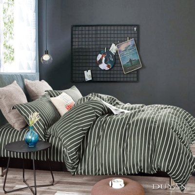 DUYAN竹漾 MIT 天絲絨-雙人加大床包枕套三件組-天方夜譚