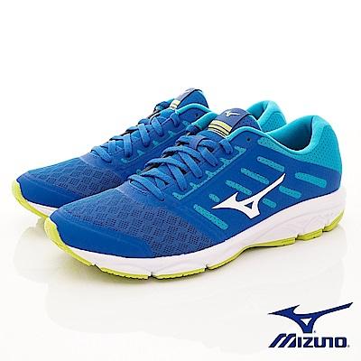 Mizuno美津濃-避震慢跑鞋-183802湖水藍綠(男段)